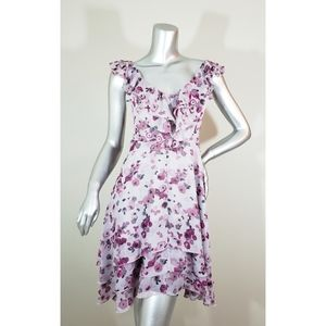 Lauren Conrad Pink Floral Dress